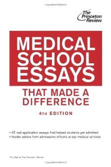 good med school essays