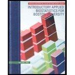 Introductory Applied Biostatistics for Boston University, Volume One (Vo)