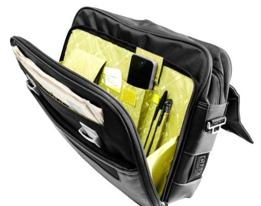 Briefcase 2 comp. Notebook holder 15,6