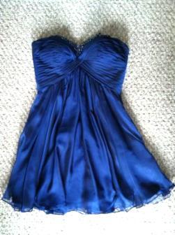 Strapless Cocktail Dress - $150