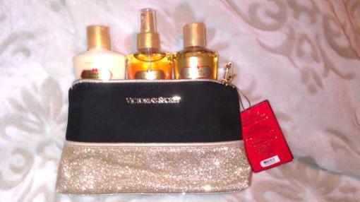 Victoria's Secret VS Amber Romance Gift Set Lotion+mist - $30