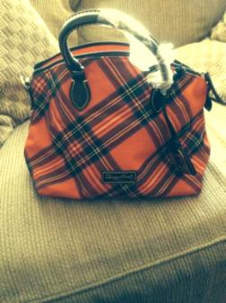 Dooney and Bourke Plaid Satchel - $125