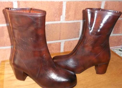 Short Rain Boots. Heels-2.5