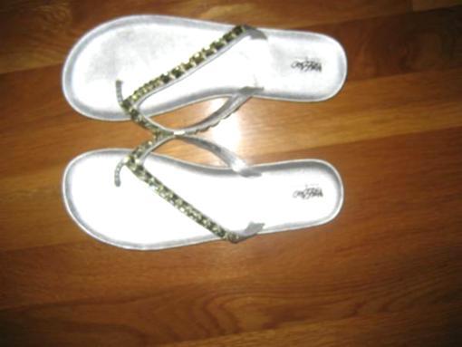 NEW Rhinestone Flip Flops - $5