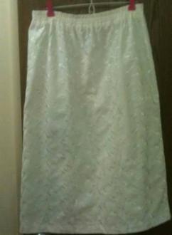 White Skirt. Size M. - $39