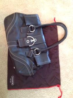 Coach handbag - authentic - $60