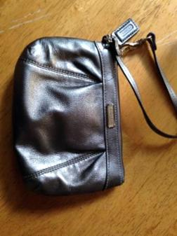 Coach Wristlet--Genuine - $25