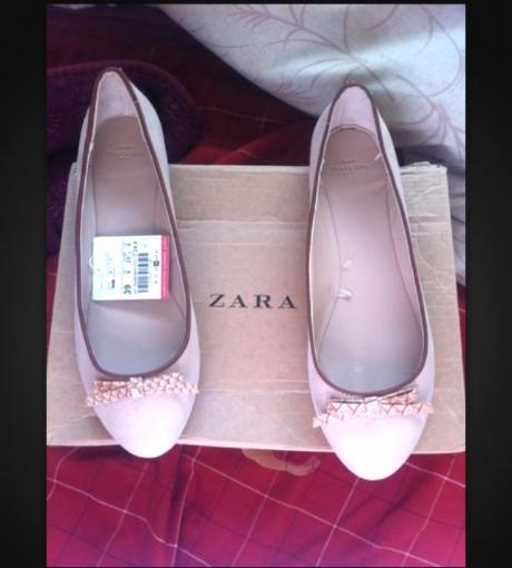 Brandnew Zara Flats size 8