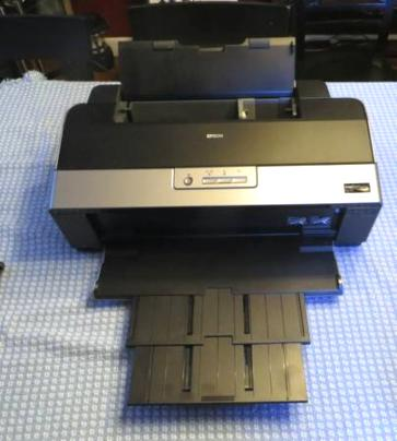 Epson R1900 13x19 Photo Printer with Lots of Extras - $400
