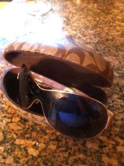Coach authentic women's sunglasses - $60
