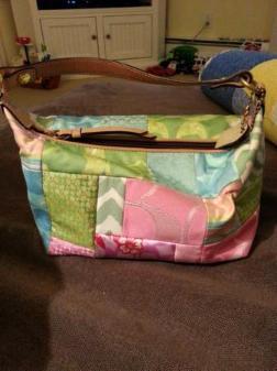 Spring/summer Coach purse - $40