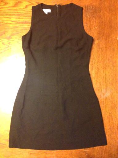 Black BEBE LBD Little Black Dress Sz. 6 Career Casual Formal All Occasion S