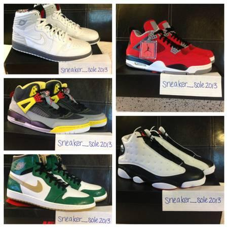 Jordan Shoe Collection - $3000