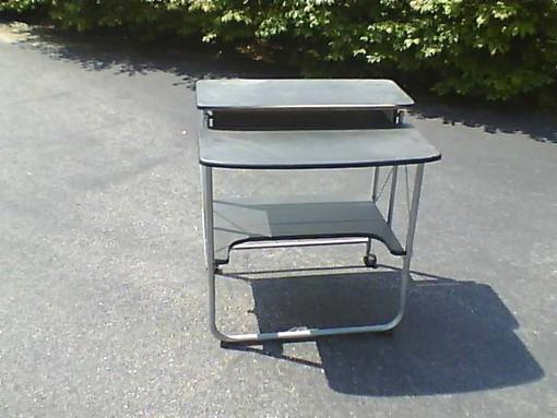 Folding computer desk - $25