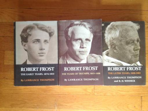 Robert Frost Trilogy - L. Thompson - $250
