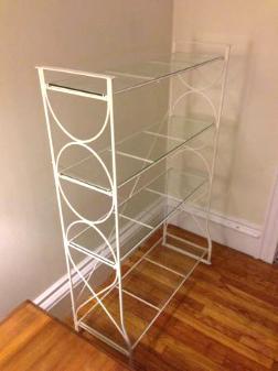 Glass Shelves - $60