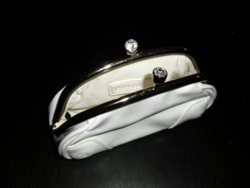 white express evening bag - $10