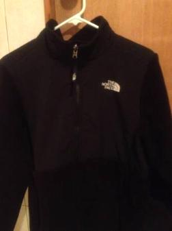 The North Face black fleece ( girl's x- large) - $30