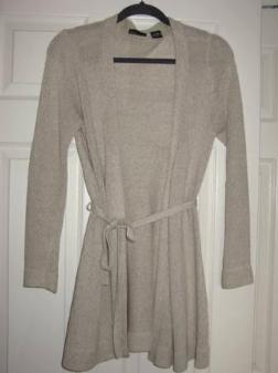 Victoria Secret Tan Cardigan Sweater