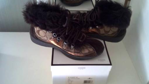 Coach Boots, brand new! sz 7.5 - $80