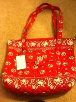 Vera Bradley Tote Bag - $40