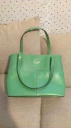 kate spade shoulder bag,green - $170