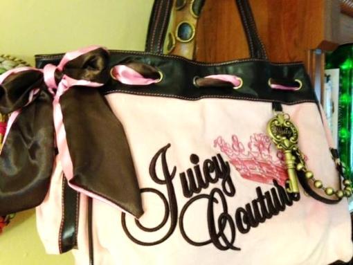 Pink Purse Handbag Juicy Couture - $65