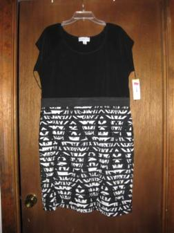 Black and White Women's Dress price reduced $15.00 - $25