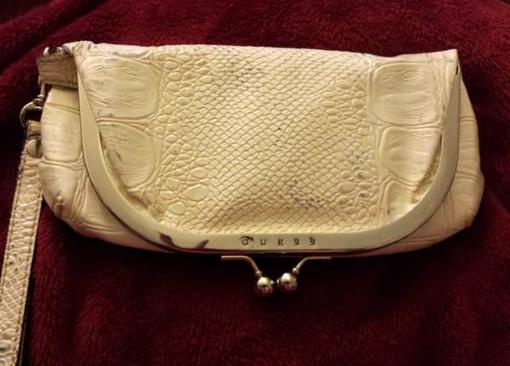 GUESS Ivory Wristlet - $5