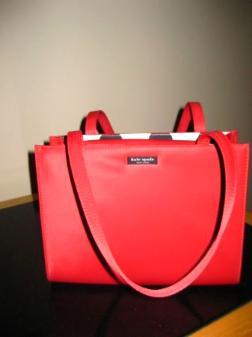 Red Kate Spade Handbag - $80
