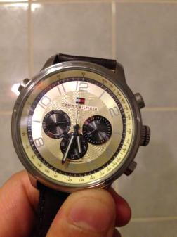 Men's Chronograph, Tommy Hilfiger Watch - $100