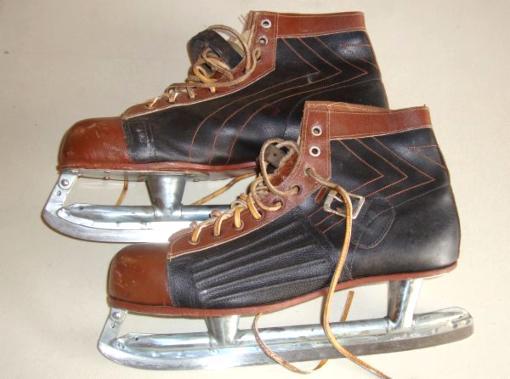 Vintage Pro-Aero 40's Ice Speed Skates - $25