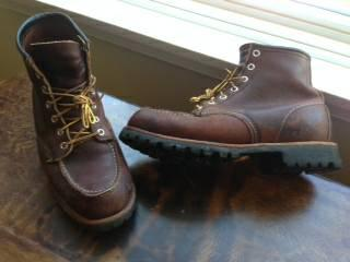 Red Wing Boots 9D - $115