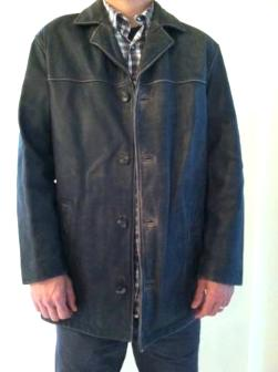 Leather Jacket- John Ashford - $50