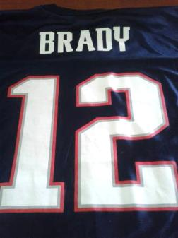 Tom Brady New England Patriots Jersey - $25
