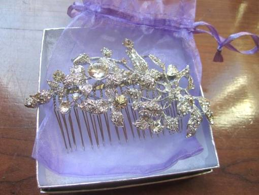 Hair Pieces - Comb - $25