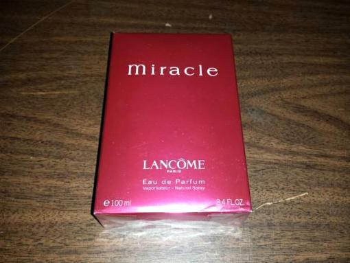 Lancome Miracle Eau de Parfum for Women 3.4oz Perfume (Brand New) - $50