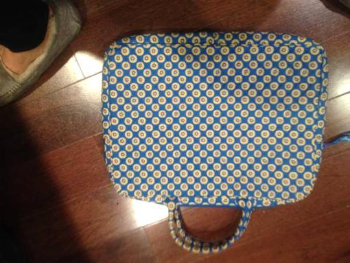Vera Bradley Laptop Carry case - $10