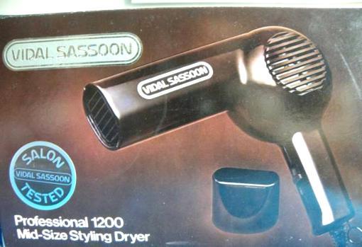 Vidal Sassoon Pro 1200 Hair Dryer - $25