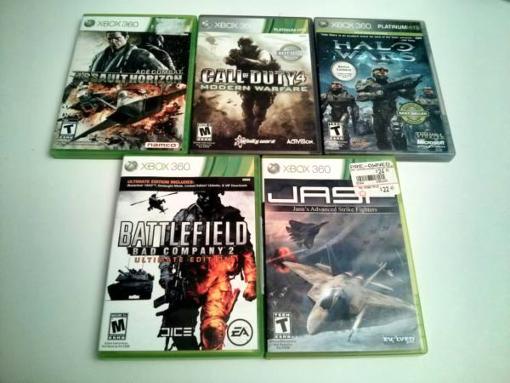 5 XBOX 360 Games - $40