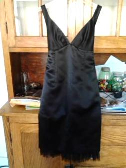 Black Cocktail Dress Size 2 - $20
