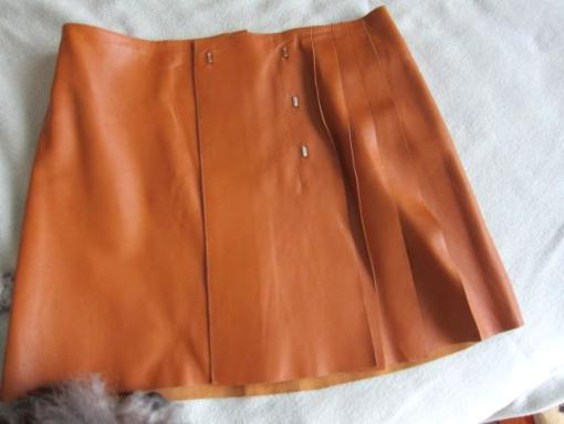 Gorgeous Clements Ribeiro Soft Leather Skirt S - $80