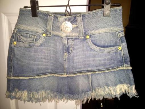 Guess jr. jean skirt - $15