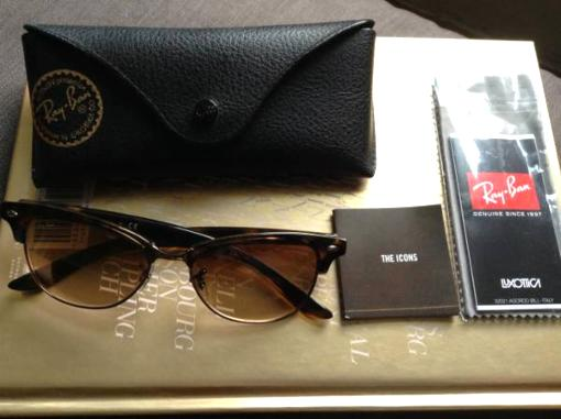 Ray Ban tortoise shell sunglasses - $75