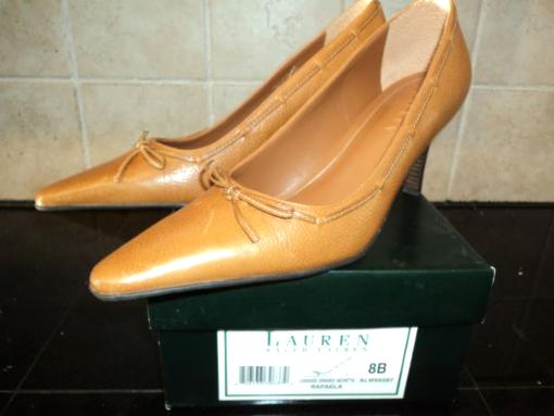 Ralph Lauren Ladies Heels - $25