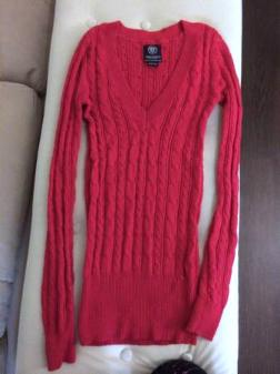 American Eagle Sweater - hot pink** New - $10