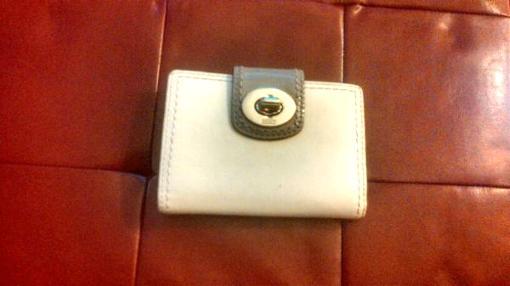 Distinctive Leather Women's Coach Wallet - $100