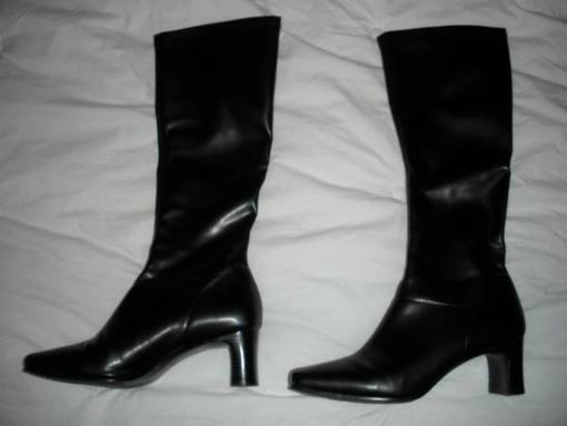Women Black Dress Boots!!! - $30