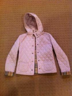 Women's Burberry Winter Jacket - $225