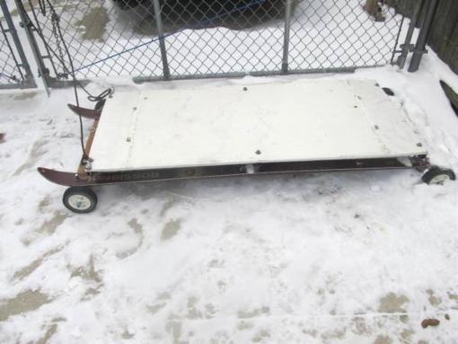 Ice fishing sled - $30